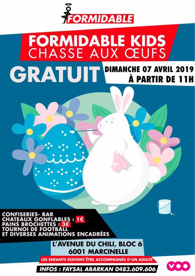 Chasse aux oeufs Formidable